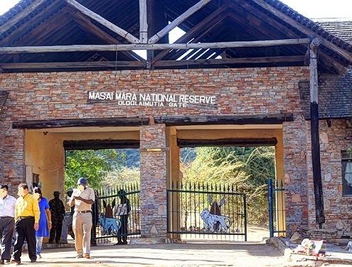 Masai Mara entry fees
