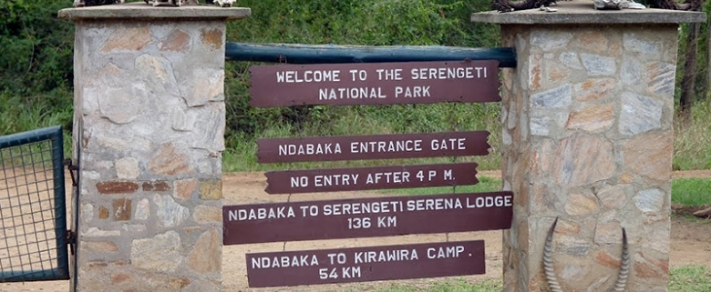Serengeti national park entry fees.