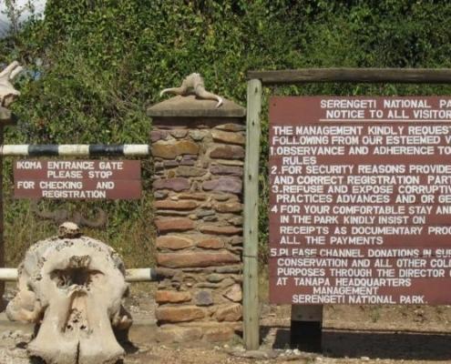 Serengeti national Rules